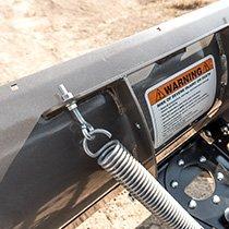 ATV Steel Plow Back